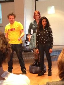 Theatergroep Zwerm met iSocial