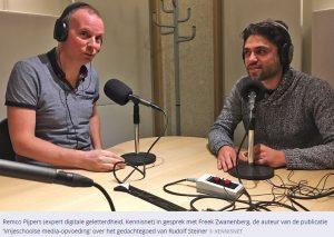 Freek Zwanenberg in gesprek met Remco Pijpers, november 2016