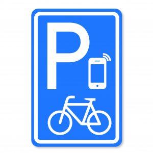 Nieuw verkeersbord - appen naast je fiets mag hier - Bureau Jeugd en Media.
